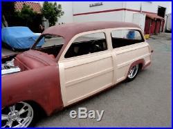 1949 1950 1951 Ford Woodie Station Wagon Wood Set Mercury