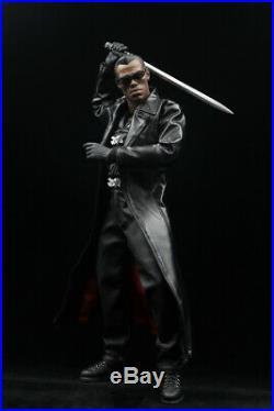 1/6 Blade Ii Vampire Killer Wesley Snipe Figure Toy Model Full Set With glasses