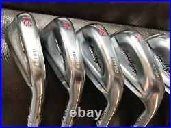 2015 Ben Hogan Ft. Worth 15 Forged iron set 4-PW KBS Steel Shafts Regular Flex