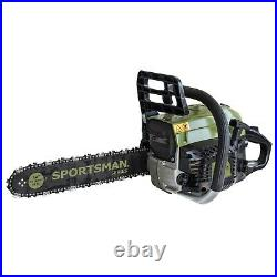 20 in. And 14 in. 52 cc Gas 2-Stroke Chainsaw -Sportsman