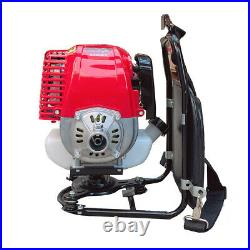 2 in1 Gas Powered String Trimmer&Brush Cutter Grass Trimmer Weed Eater 4 Stroke