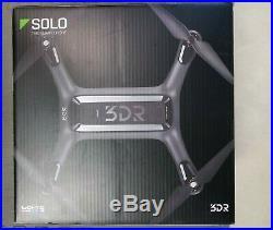 3DR Solo RTF Quadcopter Smart Drone+3 Sets of Blades+Nanuk Hard Case