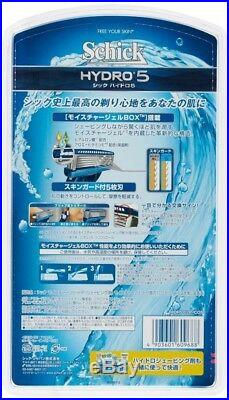 3 sets of SCHICK HYDRO5 1 razor + 17 refill blades From Japan Free Shipping