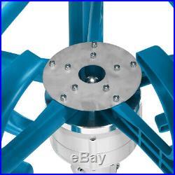 4000W 5 Blades Lantern Wind Turbine Vertical Axis Power Energy Set Dustproof