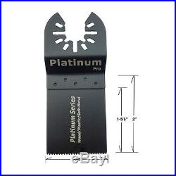 48 Pc Set Oscillating Multi Tool Saw Blade For Fein BOSCH Dremel Makita Bi metal