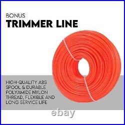 4 Stroke 31CC Brushcutter Line Trimmer Whipper Snipper Cordless Garden Tool