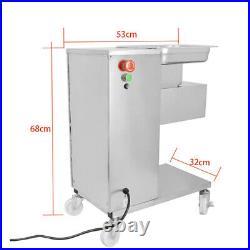 500KG Output Meat Cutter Meat Cutting Machine Slicer & 1 Set of Blade 110V