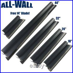 ALL-WALL 5-Piece German Stainless Steel Drywall Smoothing Blade Set 14- 44
