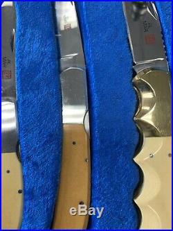 Al Mar 13 Set USA Japan-Polished Blades Late 70s Early 80s