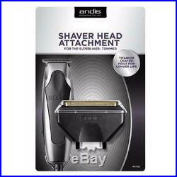 Andis SuperLiner Trimmer (04810) Bump-Free Shaver Attachment Set 77120 NEW