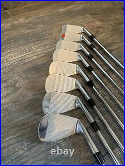 BRAND NEW IN PLASTIC Left Handed Nike VR Pro Blade Iron Set 3-PW Stiff