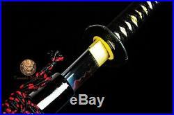 Battle Ready Clay Tempered T10 Steel Blade Japanese Katana Wakizashi Daisho Set