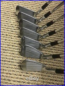 Ben Hogan The Apex 99 Forged Blade Iron Set-Apex 4 Stiff Shafts-New Grips Too