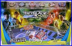 Beyblade Burst Turbo Slingshock Battle League Championship Clash Stadium Set F4
