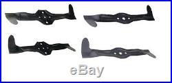 Blades Set 42 Deck Husqvarna CTH150 CTH172 CTH180 TC142T Jonsered AYP Craftsman