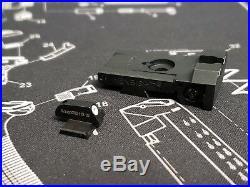 BoMar BMCS 1911 Kensight Night Sight Set Beveled Blade Tritium 0.200 Front