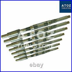 Bore 8pcs Expanding Adjustable Hand Reamer HCS Blades Fixed Pilots Set H4-H11