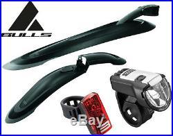 Bulls Blades Set 26 / 27,5, Schutzbleche Schutzblechset MTB + Licht Eyes 1.5