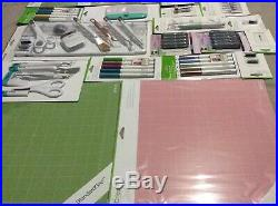CRICUT Lot Accessory Tool Set Kits Pens Mats Blades Markers Brand New