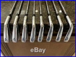 Callaway Collectible 2009 X prototype Iron Set PW-3 Irons NEW! S300 Shafts