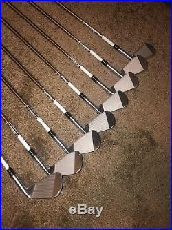 Callaway X-Forged Iron Set 3-PW Stiff Flex Project X Shafts Left Handed NEW