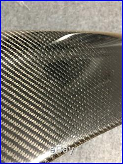 Carbon Fiber Door Panel Trims Side Blades Set for 2014-2017 Porsche Macan