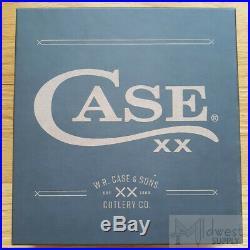 Case XX Changer Gift Set Folding Knife Stainless Steel Blade Amber Bone Handle