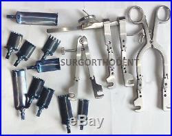 Casper Cervical Spine Lumbar Retractors with Blades Set Orthopedic Instruments