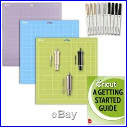 Cricut Explore Air 2 Machine Accessories Kit GripMat Pack, Blades, Pen Set