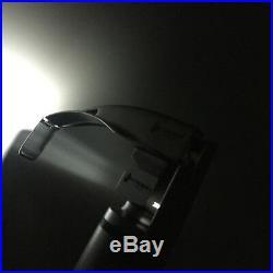 Cross Canada 16-016 LED Fiber Optic McCoy Laryngoscope Set with Flex Tip Blades