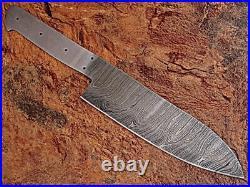 Custom Hand Made Damascus Blade 6 Pcs Kitchen Knife Chef Knife Set 071 -blank