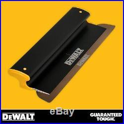 DEWALT Drywall Skimming Blade Set Stainless Steel Finishing Smoothing Tool
