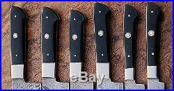 Damascus Blade Kitchen knife 06 oc's set, 1071-H