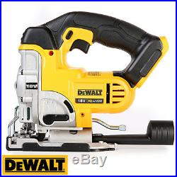 Dewalt DCS331 18V XR Jigsaw With T-Stak Big Case & 10Pc Wood & Metal Blade Set