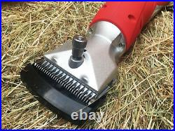Easytrek CORDLESS horse clippers with 2 batteries heavy duty inc 2 sets of blade