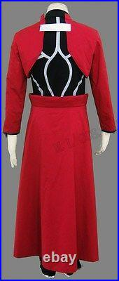 Fate Stay Night Unlimited Blade Works Archer Emiya Red Cosplay Costume whole set
