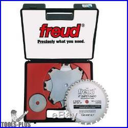 Freud SD508 8 Carbide Super Dado Blade Set New