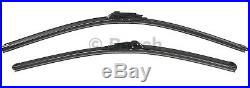 Front Pair Set of 2 Windshield Wiper Blades For Volvo S60 S80 XC90 XC70 Bosch