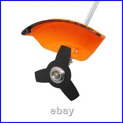 Gas Powered Brush Cutter String Trimmer Grass Weed Eater Cordless Straight Shaft