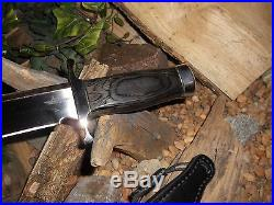 Gil Hibben Toothpick/Boot Knife/Bowie/Blade/Fighting/Expendables/SET 17 & 11.5