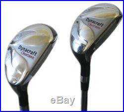 Golf Dynacraft Men's R Handed 12 Club Golf Set+BONUS 15 Titanium Balls-NEW