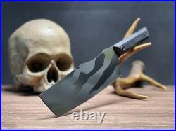 Half Face Blades Chef Knife Set