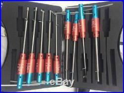 Haoshi Safe Blade Lock Tool Sets 9 Pieces Set Tool