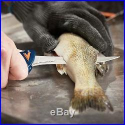 Havalon Talon Fish Cleaning Processing Fillet Knife Kit Set 4-Blade Blue XTC-TF