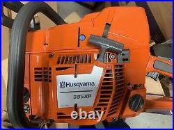 Husqvarna 395 XP with24bar, Chain and Bar Cover