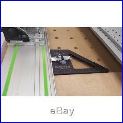 Insta-RailSquare Track Saw Square + Dog Set for Festool / Makita / Triton Rails