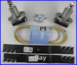 John Deere 42 Mower Spindle Mulch Blade Belt &Bolt Set L100 L105 L107 L108 L110