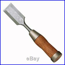 KAKURI Japanese Damascus Hybrid Chisels 8-Piece Set Western Blade made in Japan