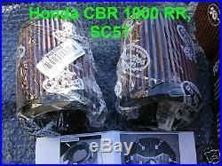 K & N Luftfilter Set Honda CBR 1000 RR, CBR1000RR, Fireblade, SC57, HA-1004