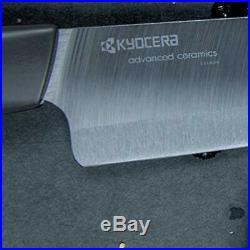 Kyocera FC3PCSETBK Revolution 3-piece Ceramic Knife Set (Black Blade)